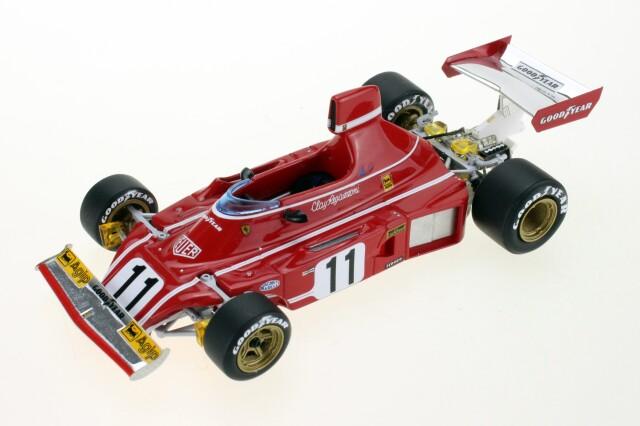 GP-REPLICAS(トップマルケス) 1/43 フェラーリ 312B3 C.レガッツォーニ 1974 No.11
