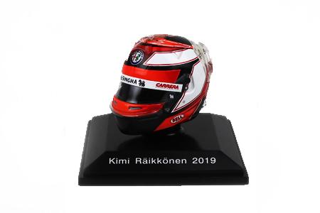 スパーク 1/8 アルファロメオ F1TEAM K.ライコネン ヘルメット 2019