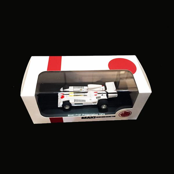プレミアムX/国際貿易別注 KBX001 1/43 マキF101 1974プレゼンテーション フィギュア無し(レジン製)
