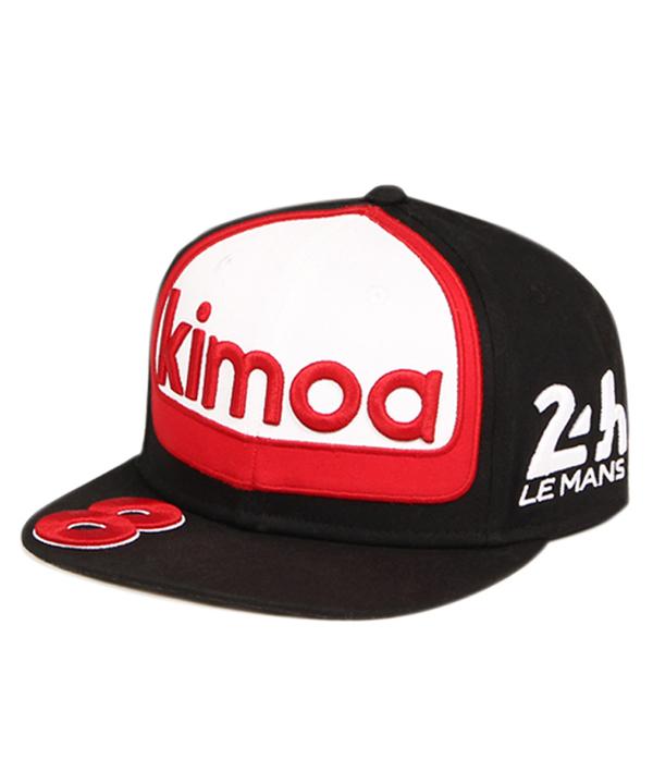 KIMOA 2018 F.アロンソ ドライバーズキャップ WECルマン24時間レース仕様 フラットver