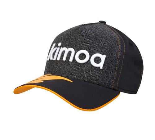 KIMOA 2018 F.アロンソ ドライバーズキャップ グレーカラー ベースボールver(NEWERA製)