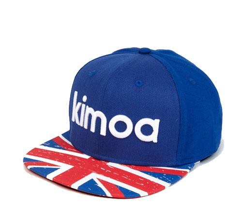 【再入荷】KIMOA 2018 F.アロンソ ドライバーズキャップ イギリスGP限定
