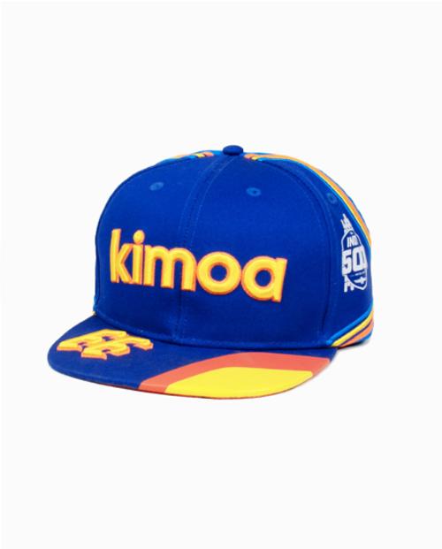【並行輸入品】2019年インディ500 F.アロンソドライバーズキャップ(KIMOA製)