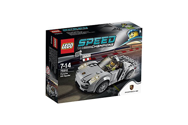 LEGO Speed 75910 Champions Porsche 918 Spyder kakko【レゴ スピード チャンピオン ポルシェ 918 スパイダー】