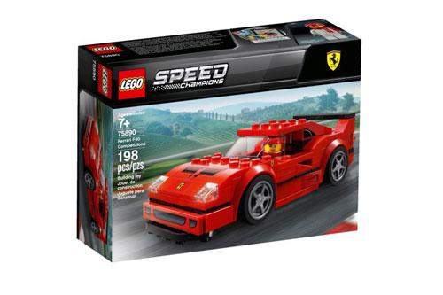 LEGO SPEED 75890 FERRARI F40 【レゴ フェラーリ F40 コンペティツィオーネ 】