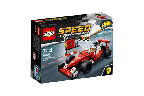 LEGO SPEED CHAMPIONS 75879 SCUDERIA FERRARI SF16-H【レゴ フェラーリ スピードチャンピオン スクーデリアフェラーリ SF16-H 】