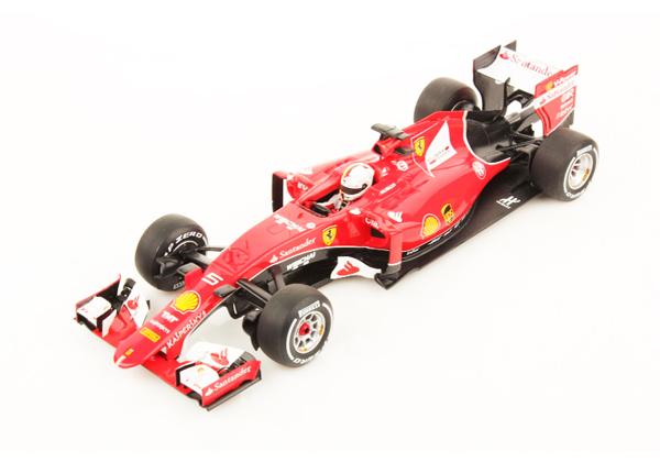 ルックスマート 1/18 フェラーリ SF15-T S.ベッテル 2015年マレーシアGP優勝 NO.5