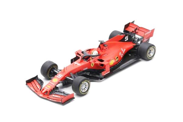 ルックスマート 1/18 フェラーリ SF90 S.ベッテル 2019年中国GP3位 1000th F1 Grand Prix No.5