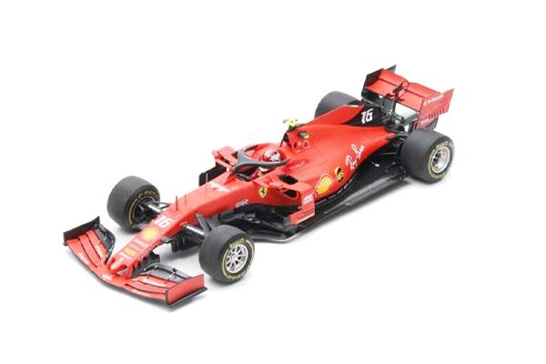 ルックスマート 1/18 フェラーリ SF90 C.ルクレール 2019年中国GP  1000th F1 Grand Prix No.16