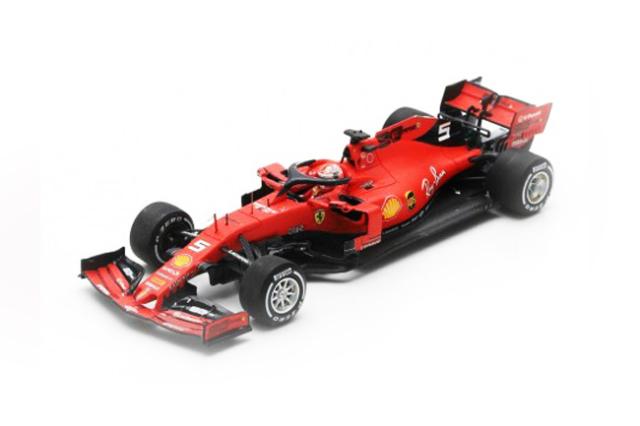 ルックスマート 1/18 フェラーリ SF90 S.ベッテル 2019年カナダGP2位 No.5