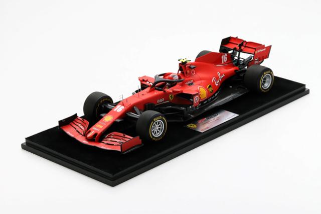 ルックスマート 1/18 フェラーリ SF1000 C.ルクレール 2020年オーストリアGP2位 No.16