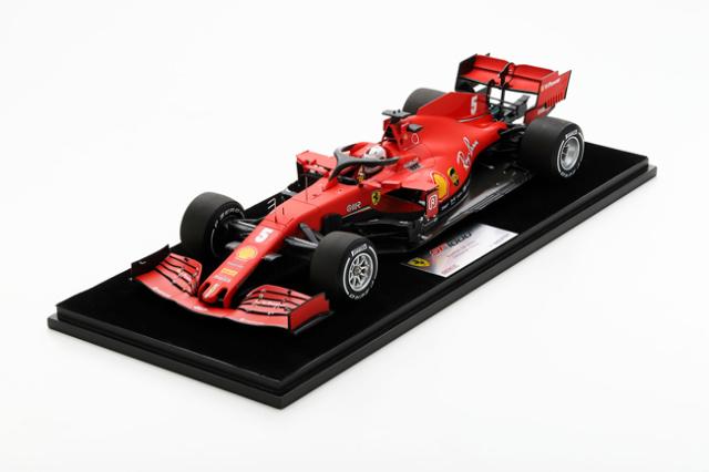 ルックスマート 1/18 フェラーリ SF1000 S.ベッテル 2020年オーストリアGP  No.5