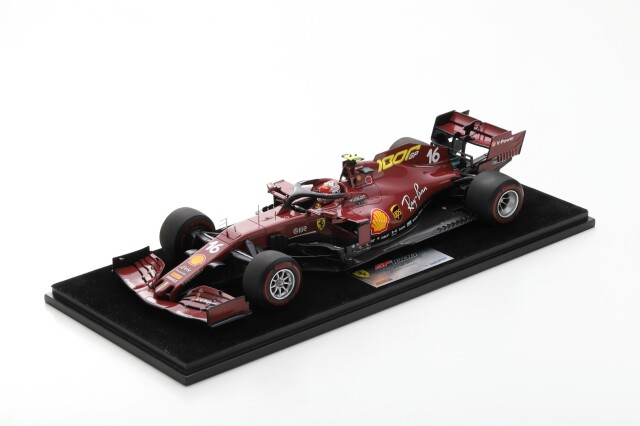 【ルックスマート (LS18F1031)2021年3月発売予定 ご予約商品】 1/18 フェラーリ SF1000 C.ルクレール 2020年トスカーナフェラーリ1000GP No.16