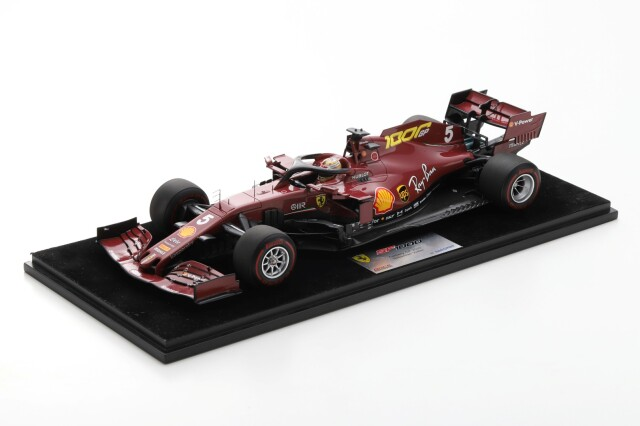 ルックスマート 1/18フェラーリ SF1000 S.ベッテル 2020年トスカーナフェラーリ1000GP No.5