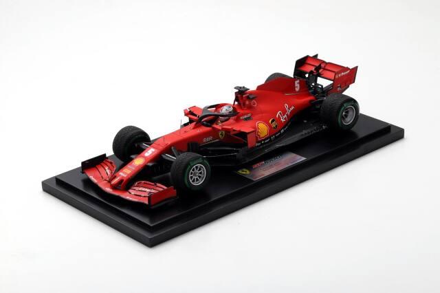 ルックスマート 1/18フェラーリ SF1000 S.ベッテル 2020年トルコGP3位 No.5