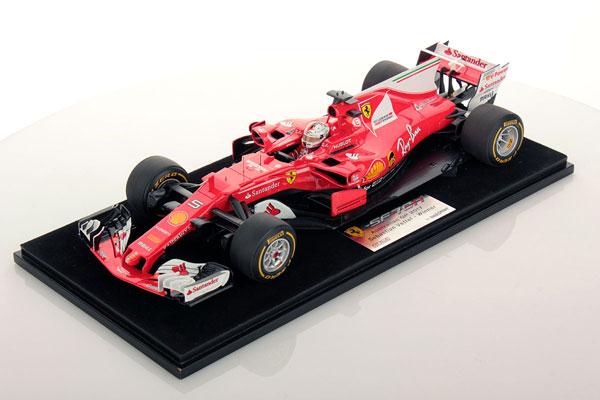 ルックスマート 1/18 フェラーリ SF70H S.ベッテル  2017年オーストラリアGP優勝