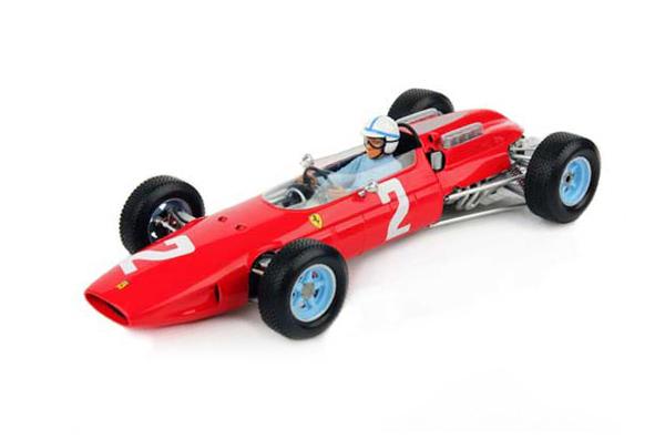 ルックスマート 1/18 フェラーリ 158 J.サーティース 1964年イタリアGP優勝 No.2