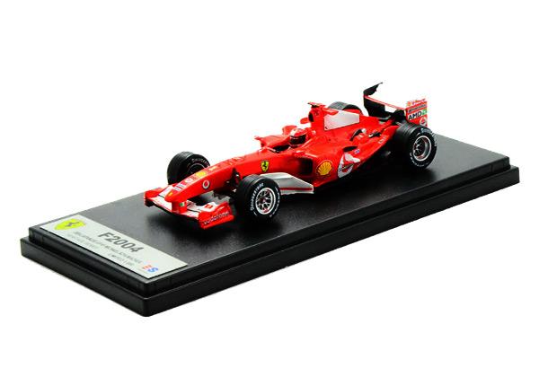 国内限定品 ルックスマート 1/43 フェラーリ F2004 M.シューマッハ 2004年日本GP優勝