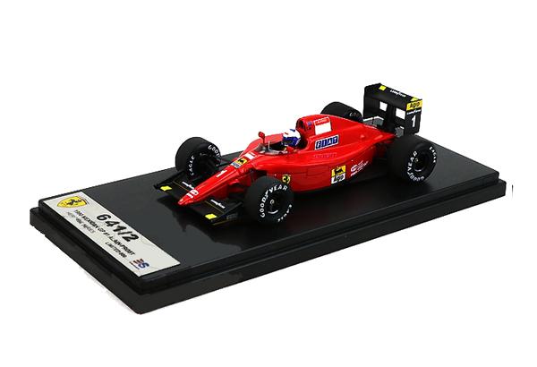 国内限定品 ルックスマート 1/43 フェラーリ 641/2  A.プロスト 1990年メキシコGP優勝 No.1