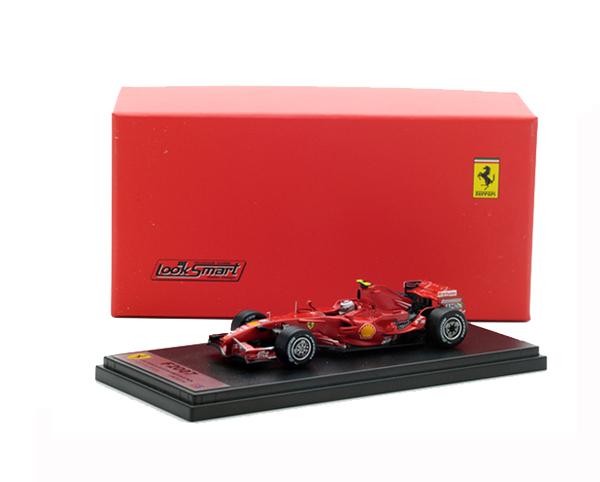 国内限定品 ルックスマート 1/43 フェラーリ F2007 K.ライコネン 2007年ブラジルGP優勝ワールドチャンピオン No.6