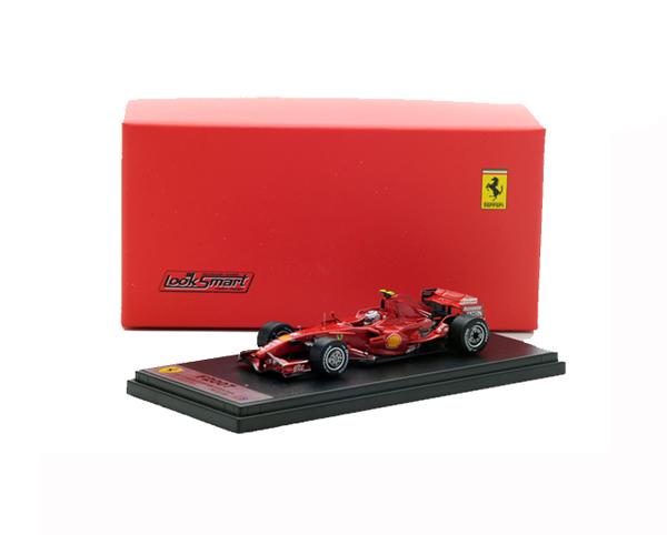 国内限定品 ルックスマート 1/43 フェラーリ F2007 K.ライコネン 2007年中国GP優勝 No.6
