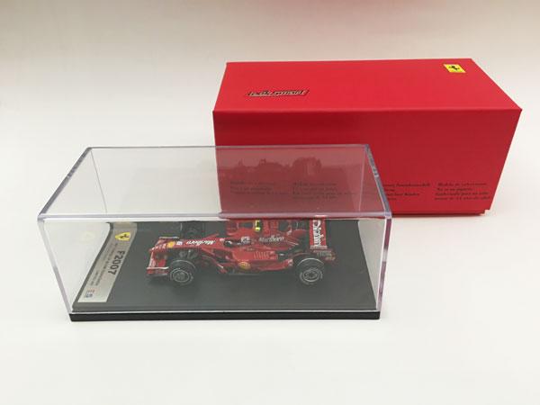 【再入荷】ルックスマート 1/43 フェラーリ F2007 K.ライコネン 2007年中国GP優勝 当店オリジナルタバコロゴモデル