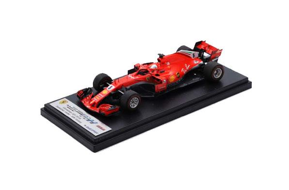 ルックスマート 1/43 フェラーリ SF71H S.ベッテル No.5 2018年カナダGP優勝 GP50勝