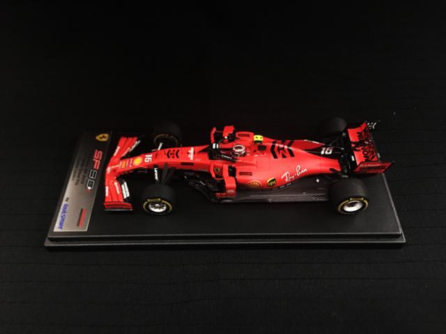 ルックスマート1/43 フェラーリ SF90 C.ルクレール 2019年中国GP1000th F1 Grand Prix  No.16 当店オリジナルMission Winnowロゴ仕様