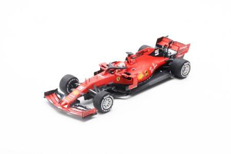 ルックスマート 1/43 フェラーリ SF90 S.ベッテル 2019年カナダGP2位 No.5