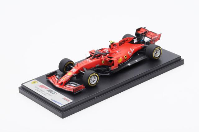 【ルックスマート (LSF1023)2020年3月発売予定 ご予約商品】1/43 フェラーリ SF90 C.ルクレール 2019年ベルギーGP優勝 予価:¥14300(消費税10%)