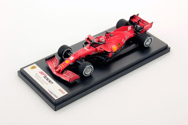 ルックスマート 1/43 フェラーリSF1000 C.ルクレール 2020バルセロナテスト No.16
