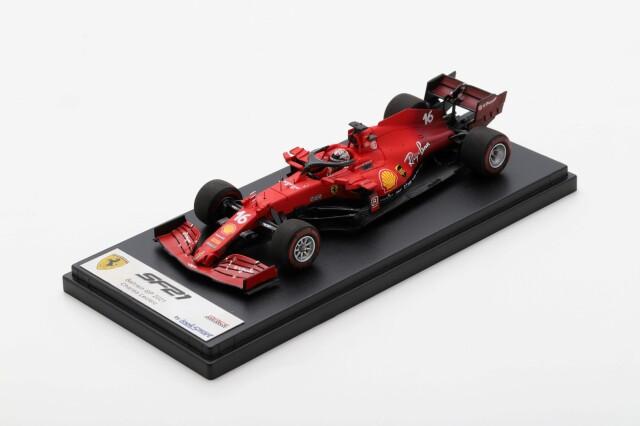 【ルックスマート(LSF1035)2021年8月発売予定ご予約商品4/29締切】1/43 フェラーリ SF21 C.ルクレール 2021年バーレーンGP No.16  予価:税込¥14300