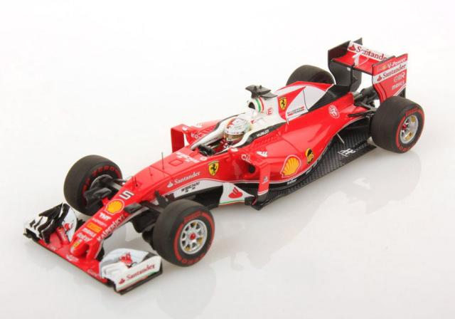 【再入荷】ルックスマート 1/43 フェラーリ SF16-H S.ベッテル 2016年オーストラリアGP3位 NO.5