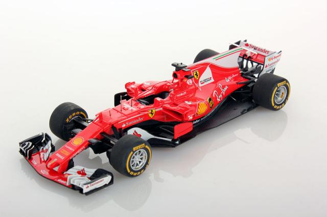 ルックスマート 1/43 フェラーリ SF70H プレゼンテーション 2017