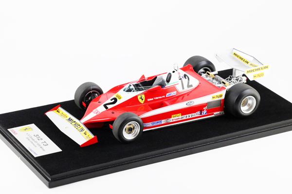 ルックスマート1/18 フェラーリ 312 T3 G.ビルニューブ 1978年カナダGP優勝 No.12