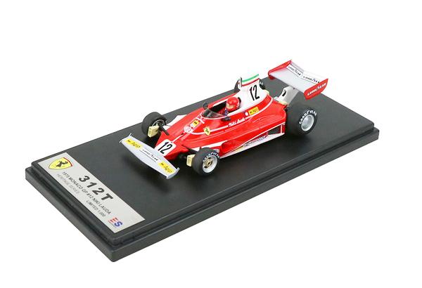 国内限定品 ルックスマート 1/43 フェラーリ 312T N.ラウダ 1975年モナコGP優勝