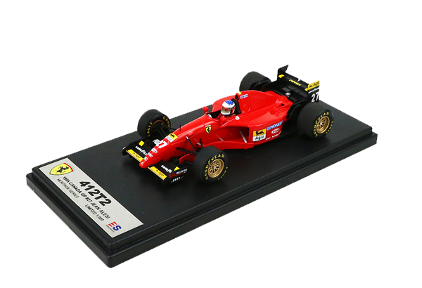 国内限定品 ルックスマート 1/43 フェラーリ412T2 J.アレジ 1995年カナダGP初優勝