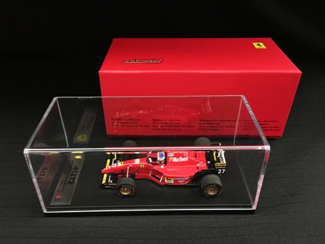 ルックスマート 1/43 フェラーリ 412T2 J.アレジ 1995年カナダGP優勝 当店オリジナルタバコロゴモデル