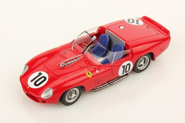 ルックスマート 1/43  フェラーリ 250 TR61 1961年ルマン24時間優勝 NO.10 O.ジャンドビアン/P.ヒル