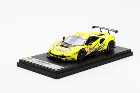 ルックスマート 1/43 フェラーリ488 GTE No.57 2019年ルマン24時間レース CarGuyRacing(カーガイレーシング) K.Cozzolino-C.Ledogar-T.Kimura