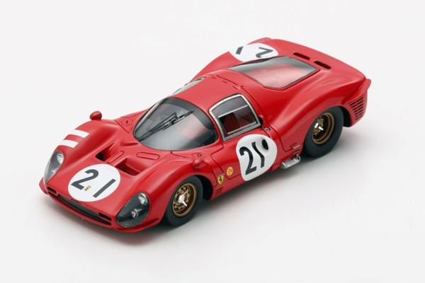 ルックスマート 1/43 フェラーリ 330 P3 1966年ルマン24時間レース No.21 L.Bandini-J.Guichet
