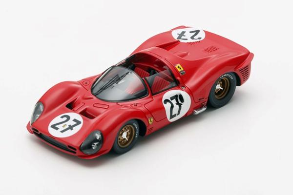 ルックスマート 1/43 フェラーリ 330 P3 1966年ルマン24時間レース No.27 R.Ginther-P.Rodriguez