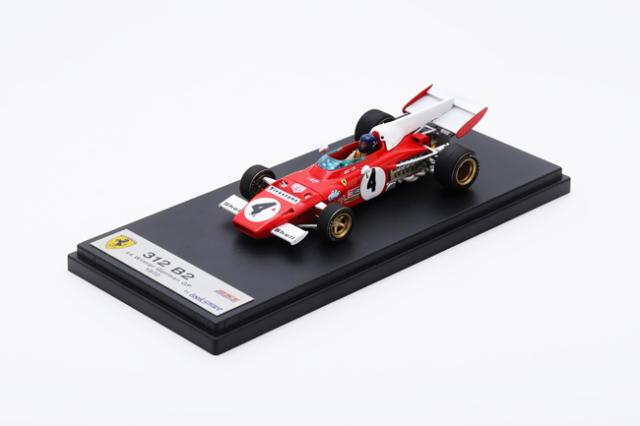 ルックスマート 1/43 フェラーリ 312 B2 J.イクス 1972年ドイツGP優勝 No.4