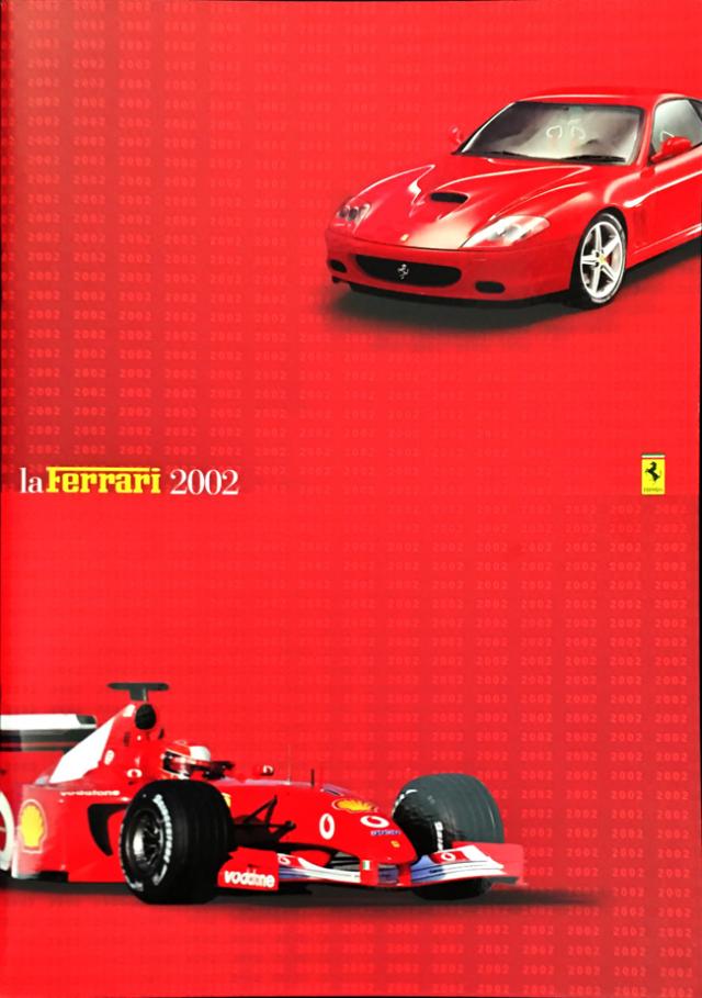 "FERRARI フェラーリ インフォメーションブック 2002 ""LaFerrari 2002"""