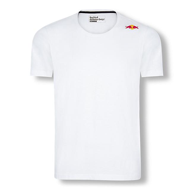 Red Bull Athletes Collection(レッドブルアスリートコレクション)アスリート用Tシャツ ホワイト