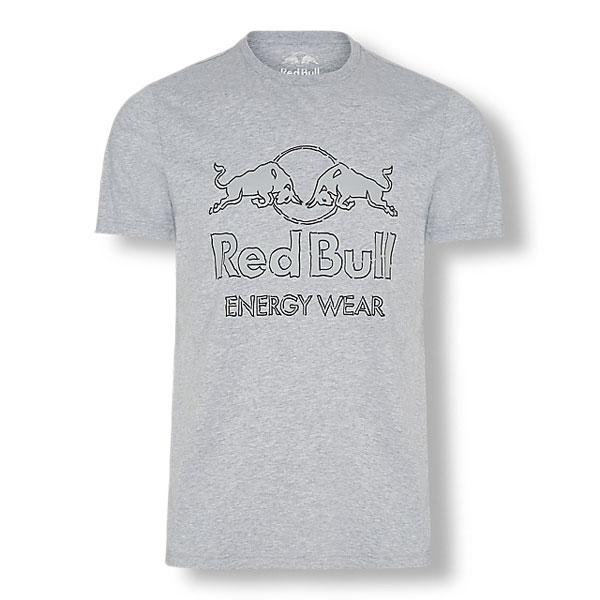 RedBull Energy Wear Collection(レッドブルエナジーウエアコレクション)ロゴTシャツ グレー
