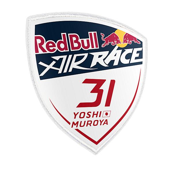 Red Bull AirRace Collection(レッドブルエアレースコレクション)室屋義秀選手 ワッペン