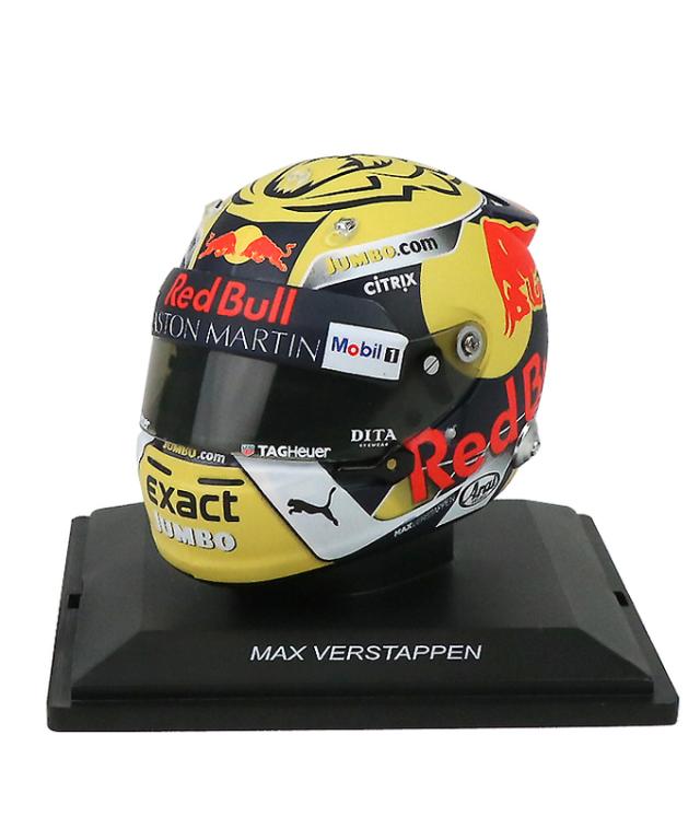 2018 1/5 レッドブル別注 M.フェルスタッペン オーストリアGP ヘルメット(SPARK製)