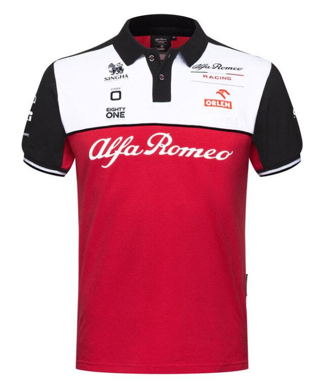 2021 アルファロメオF1チームポロシャツ