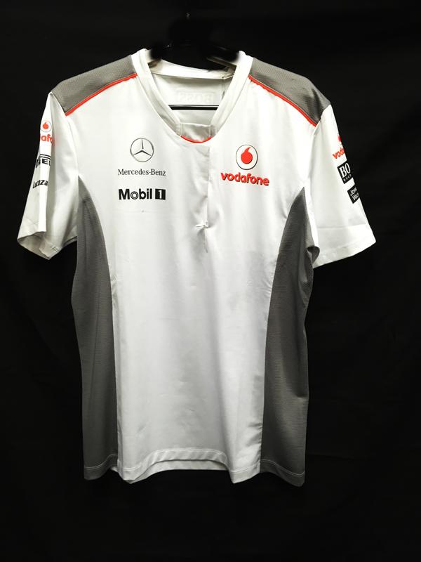 2012 マクラーレン チーム支給品 Tシャツ 新品タグ付(少し汚れあり) サイズL